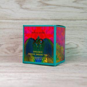 detox green tea box