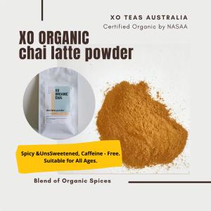hot indian chai tea latte powder